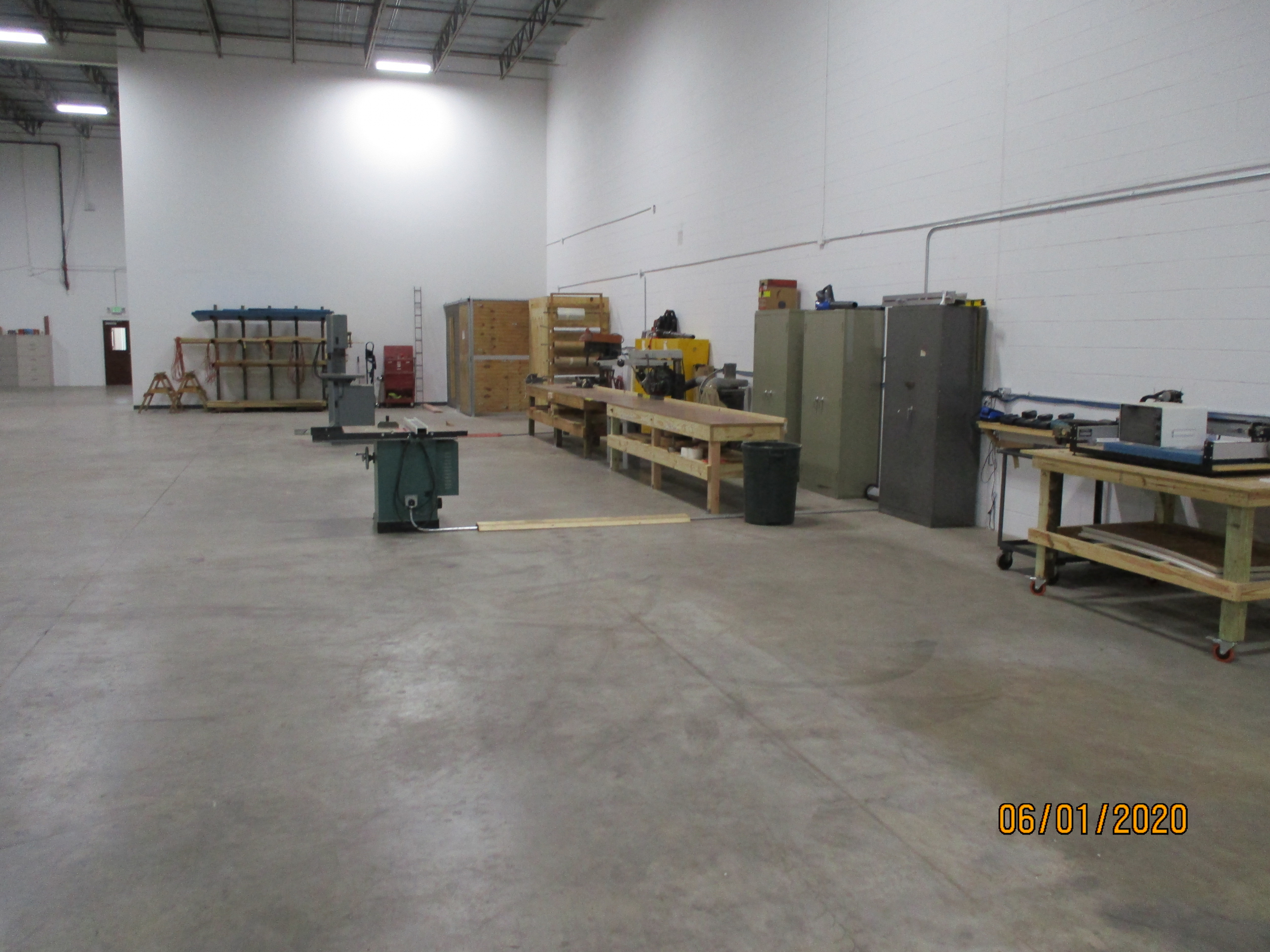 Crating and Packaging area